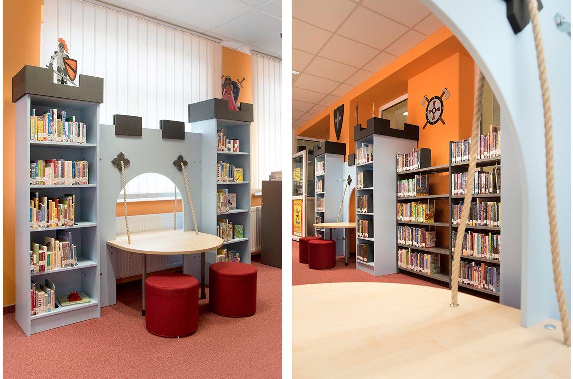 US-Army USAG Bavaria Tower Barracks Library Grafenwöhr, Germany - Public libraries