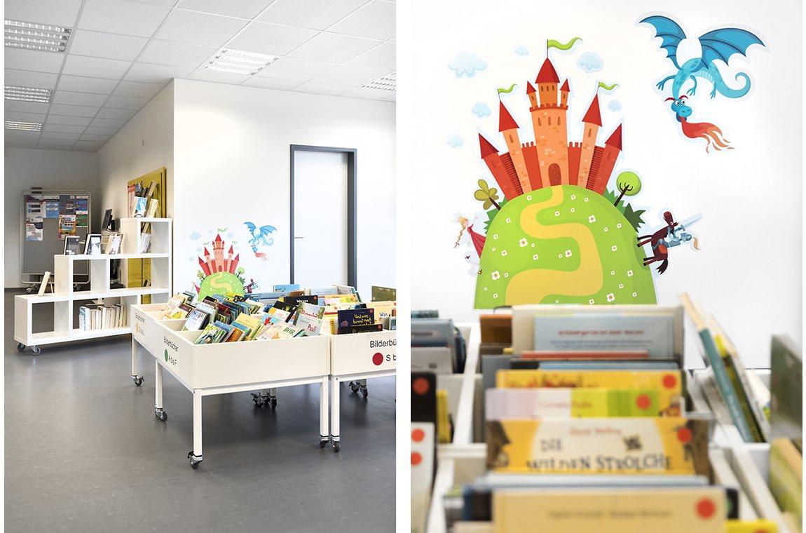 Bibliothèque municipale de Regensburg Candis, Allemagne - Bibliothèque municipale