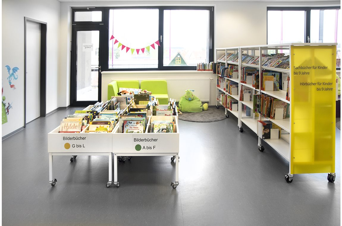 Regensburg Candis Bibliotek, Tyskland - Offentligt bibliotek