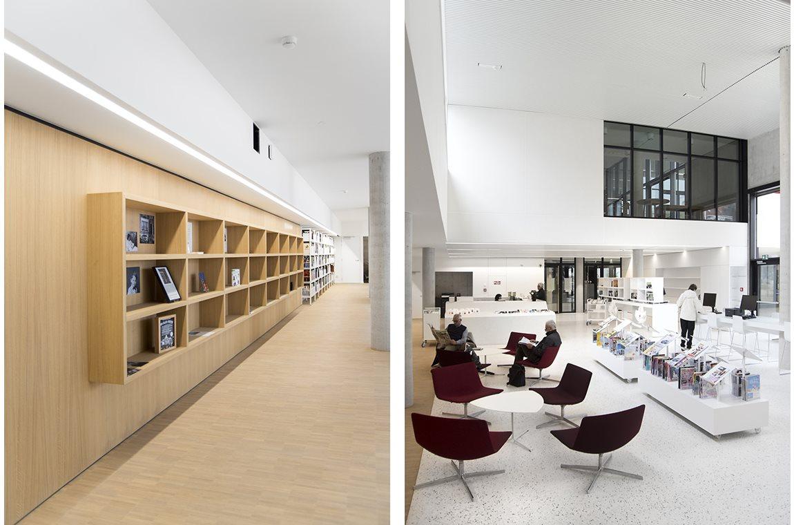 Bibliothèque municipale de Zaventem, Belgique  - Bibliothèque municipale