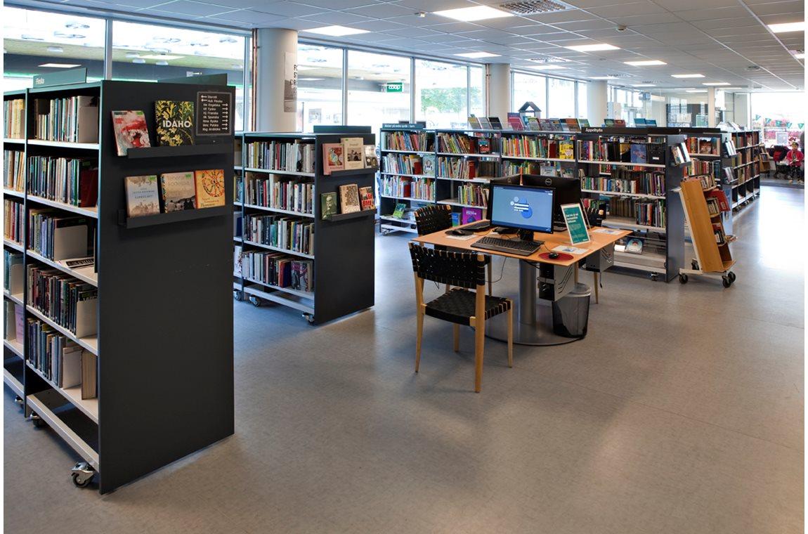 Fruängen bibliotek, Sverige - Offentliga bibliotek