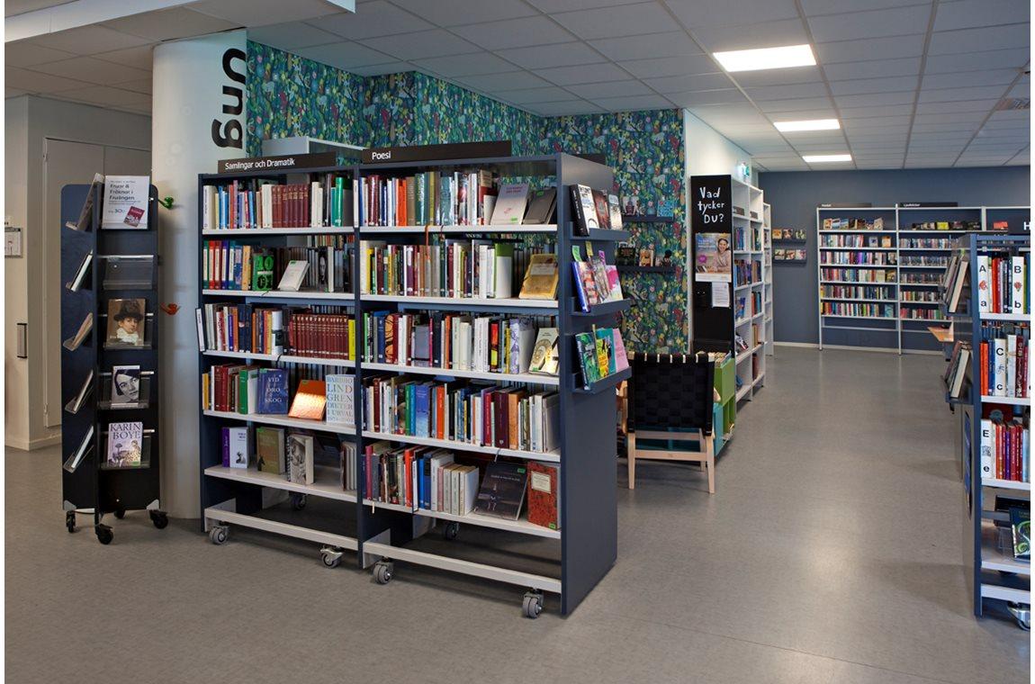 Fruängen Bibliotek, Sverige - Offentligt bibliotek