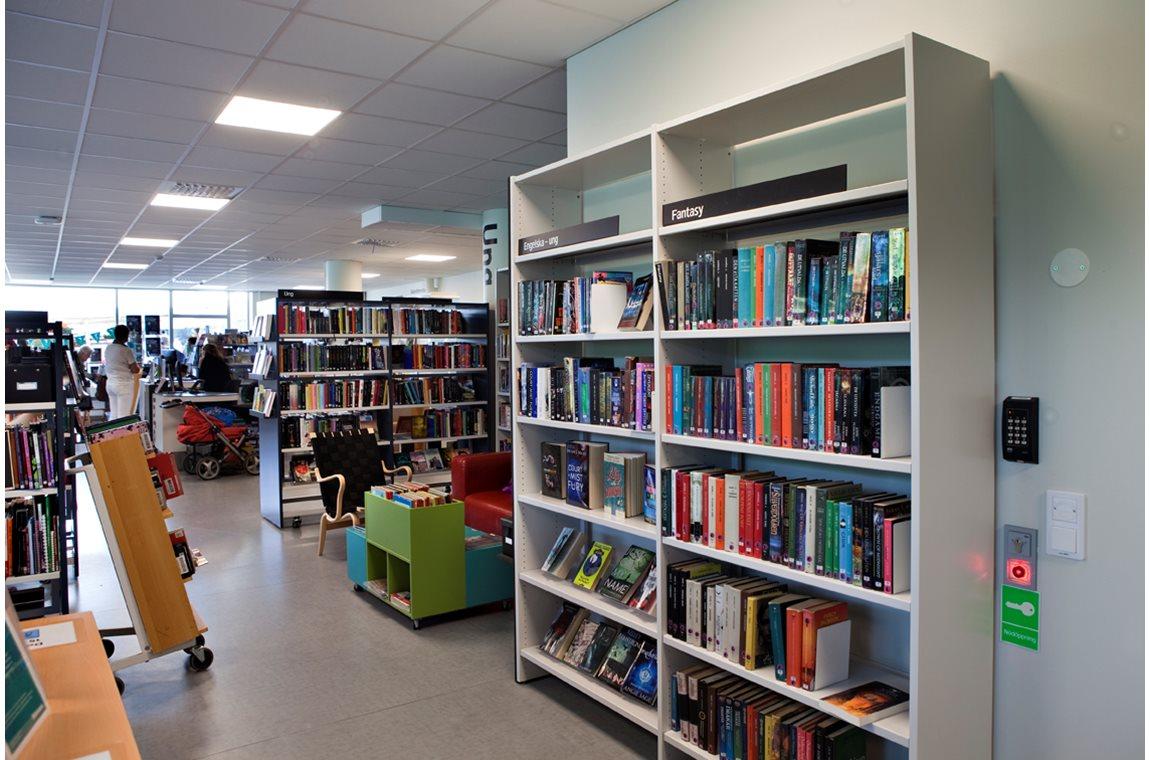 Bibliothèque municipale de Fruängen, Suède - Bibliothèque municipale