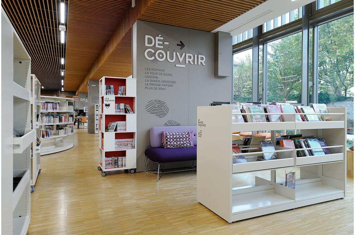 Gerland Bibliotek, Lyon, Frankrig - Offentligt bibliotek