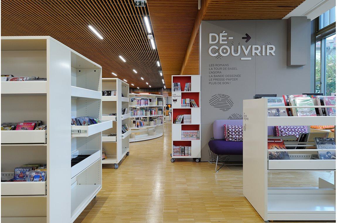 Lyon Gerland Public Library, France - Public libraries