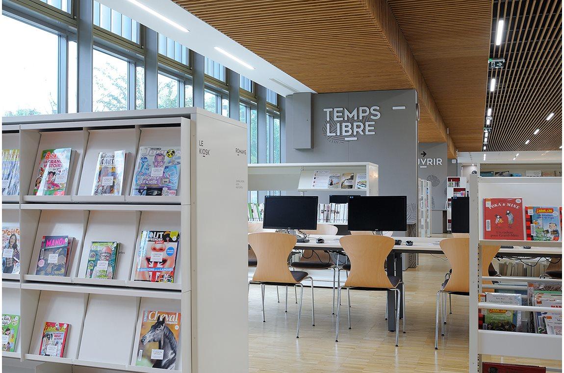 Öffentliche Bibliothek Gerland, Lyon, Frankreich - Öffentliche Bibliothek