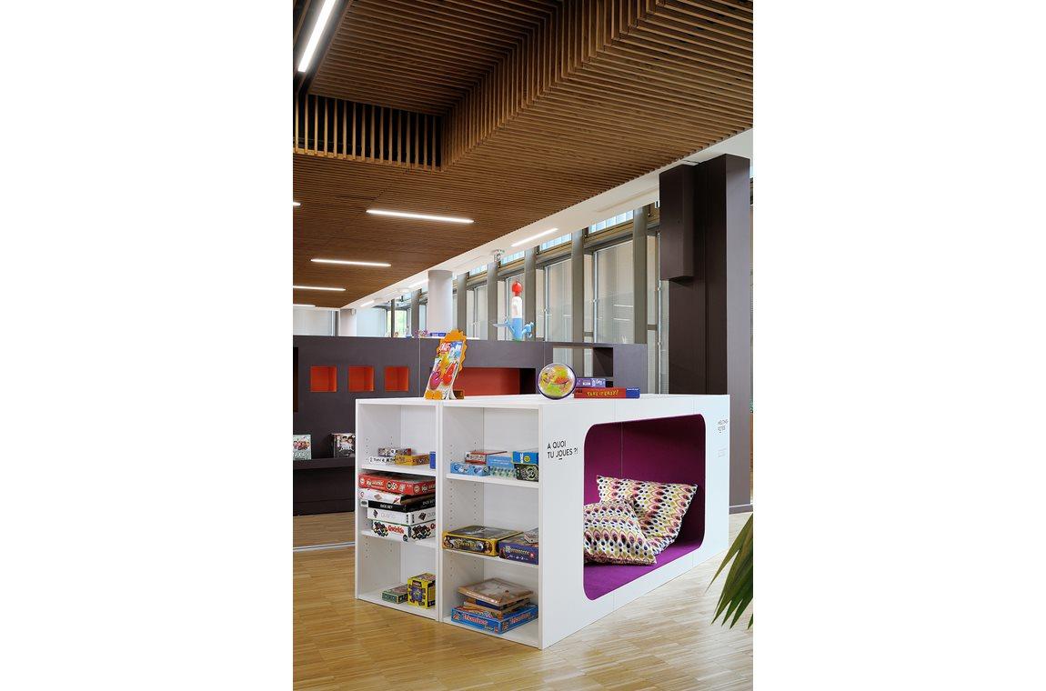 Openbare bibliotheek Gerland, Lyon, Frankrijk - Openbare bibliotheek
