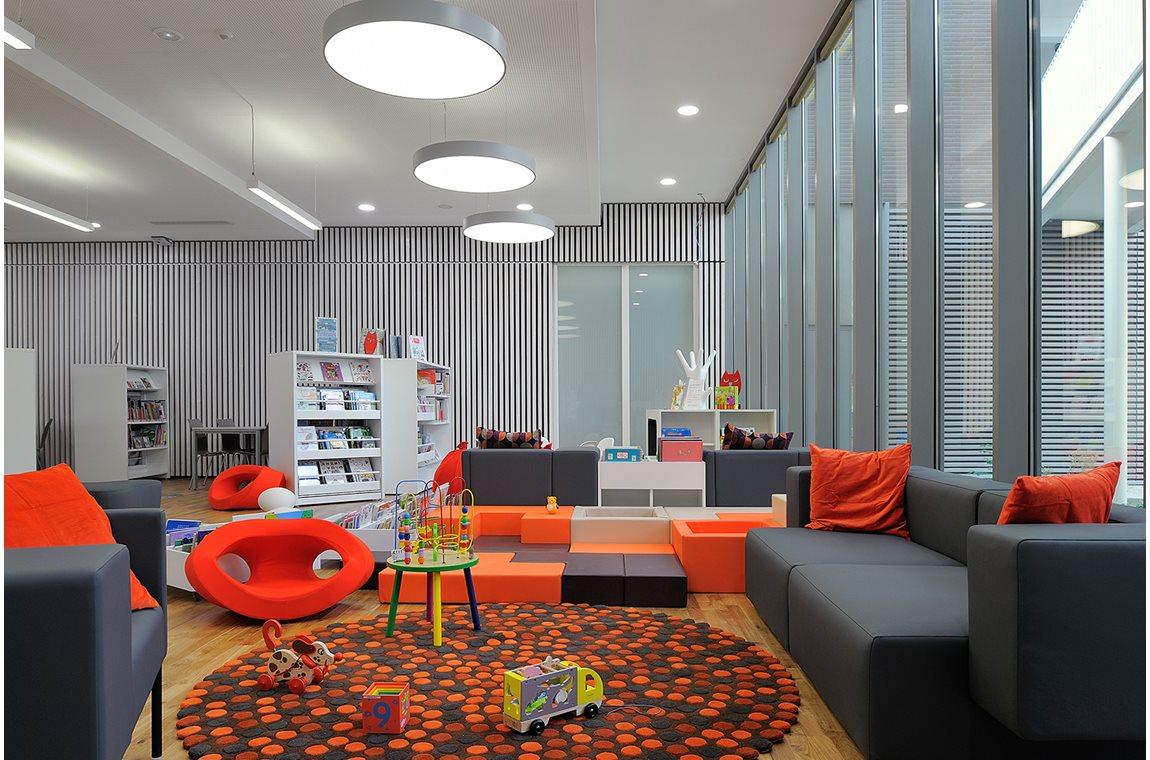 Öffentliche Bibliothek Lacassagne, Lyon, Frankreich - Öffentliche Bibliothek