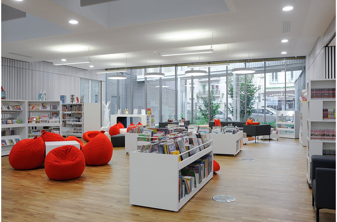 Lacassagne Public Library, Lyon, France - Public libraries
