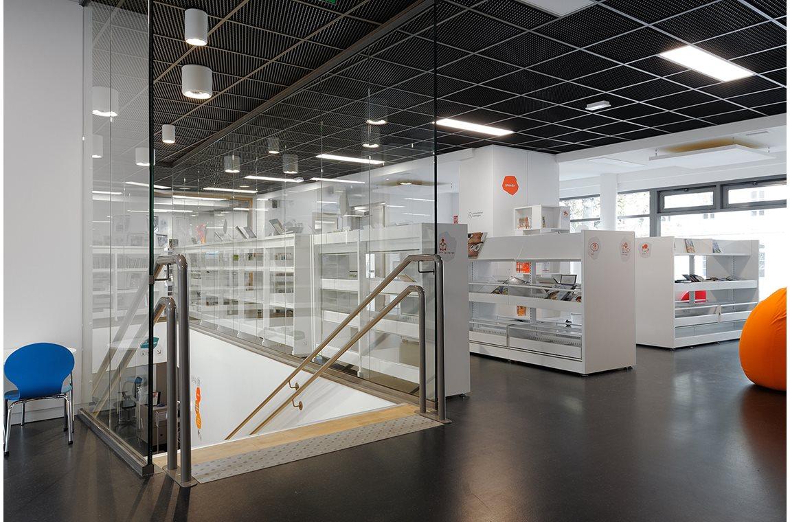 Bibliothéque du 6e, Lyon, France - Bibliothèque municipale