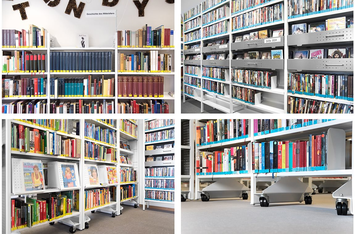 Médiathèque de Schwandorf, Allemagne - Bibliothèque municipale