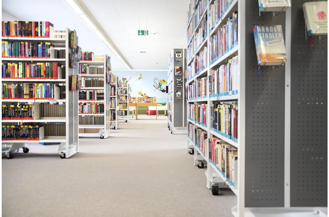 Openbare bibliotheek Schwandorf, Duitsland - Openbare bibliotheek