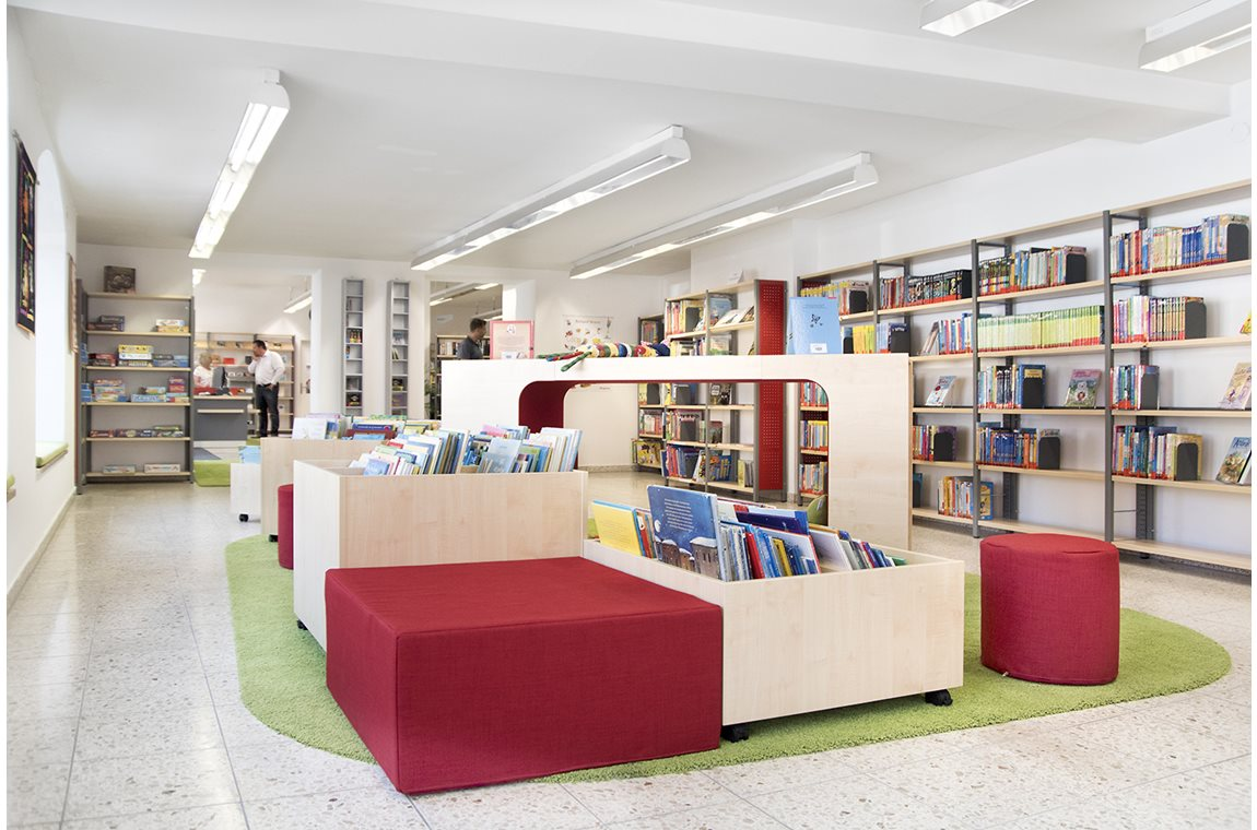 Markt Bechhofen Bibliotek, Tyskland - Offentligt bibliotek