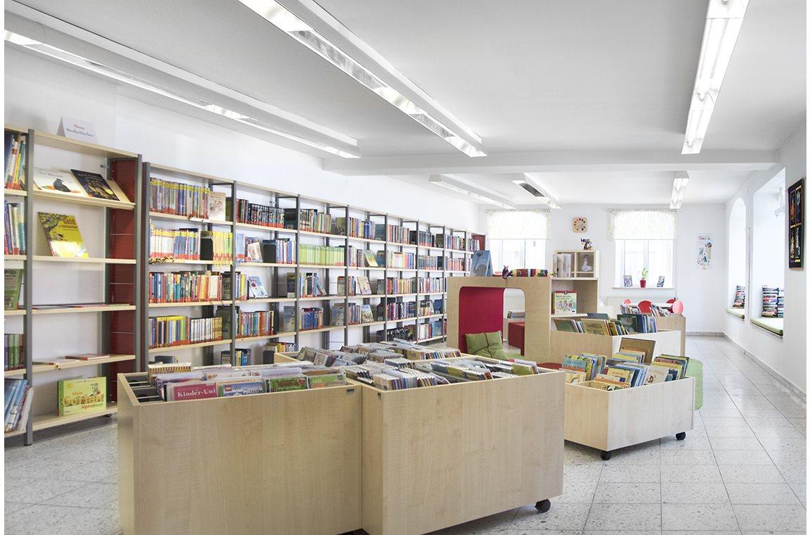 Openbare bibliotheek Markt Bechhofen, Duitsland - Openbare bibliotheek