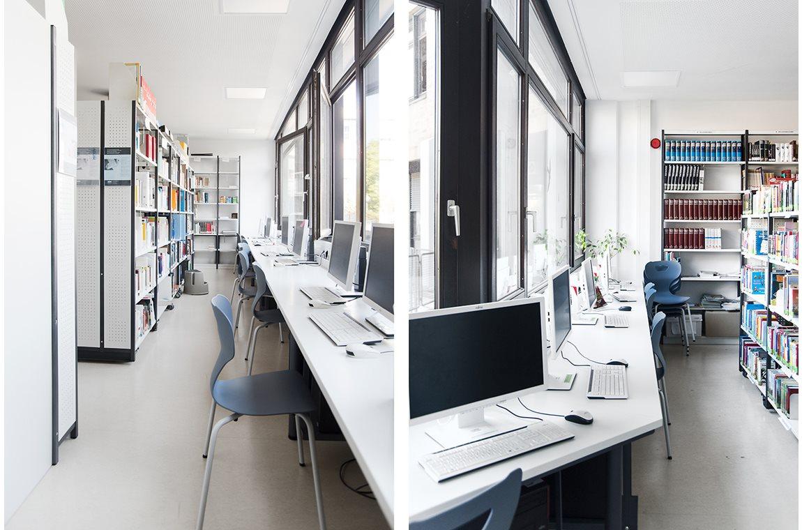 Lion Feuchtwanger Gymnasium, München, Tyskland - Skolebibliotek