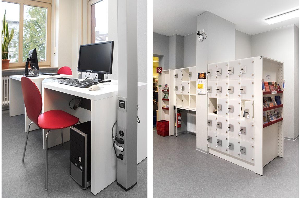 Speyer Bibliotek, Tyskland - Offentligt bibliotek