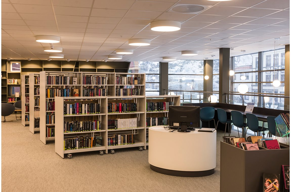 Holmestrand Public Library, Norway - Public libraries