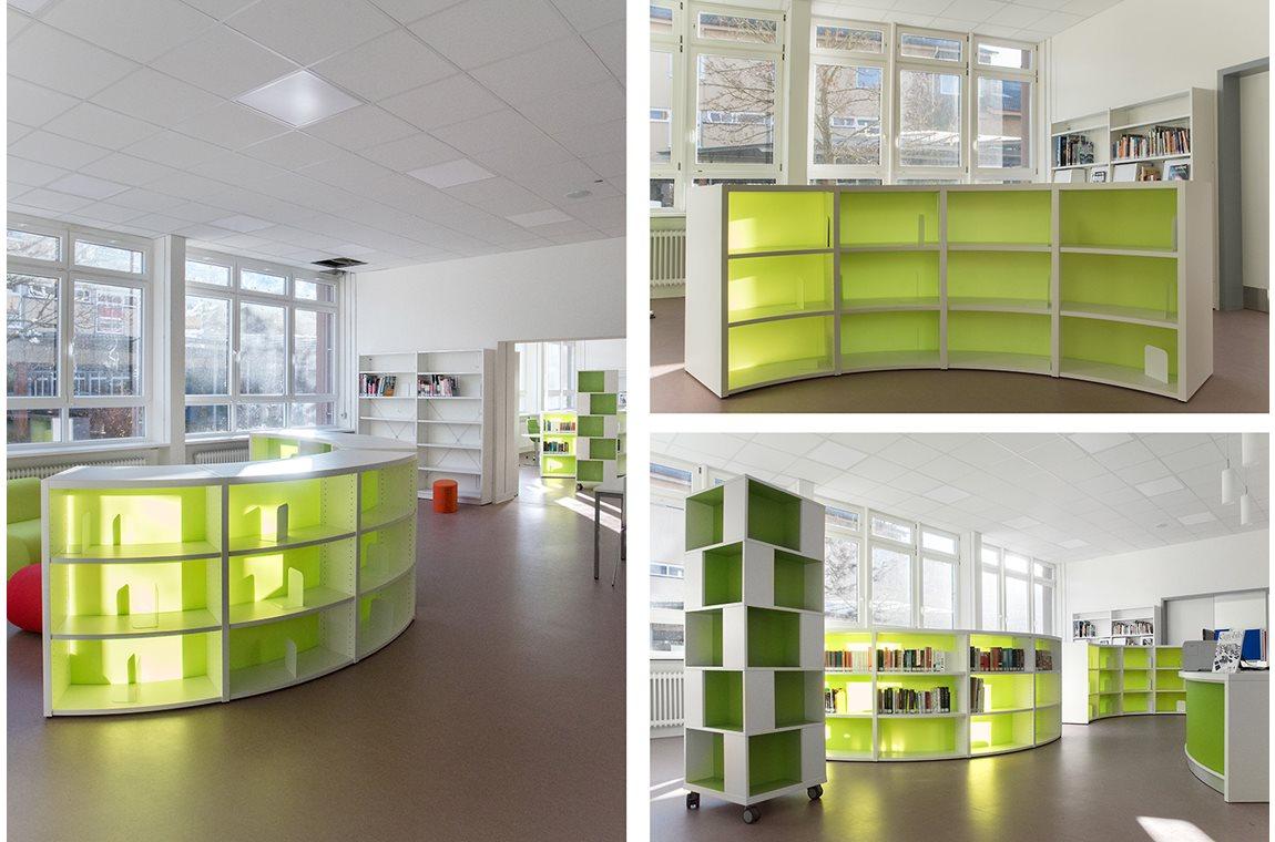 IGS Eisenberg, Tyskland - Skolebibliotek