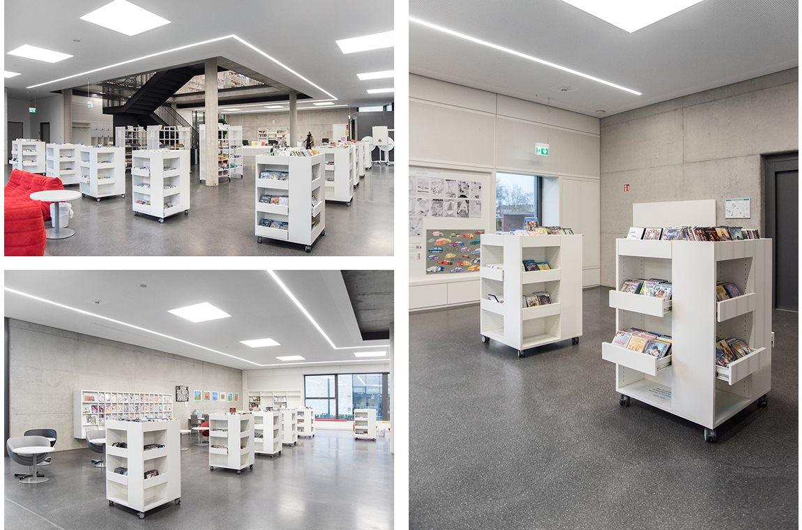 Mediathek Renningen, Deutschland - Öffentliche Bibliothek