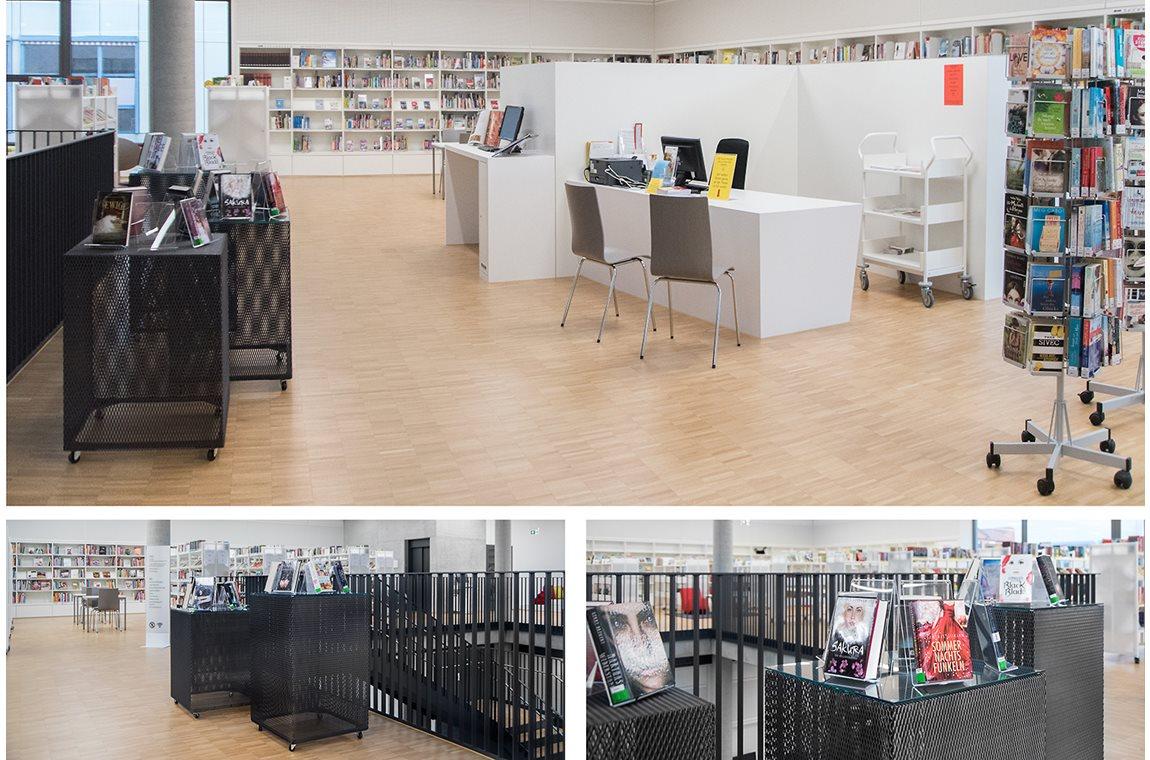 Bibliothèque municipale de Renningen, Allemagne - Bibliothèque municipale