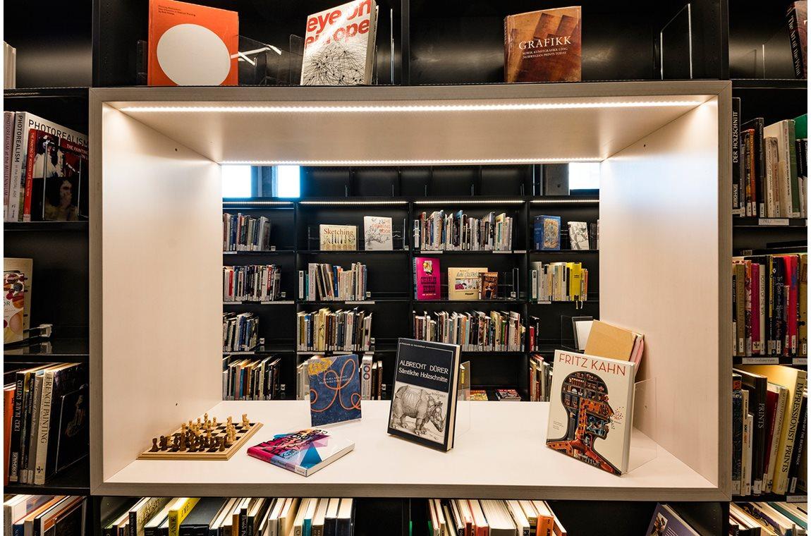 Bergen University Library, Norway - Academic libraries