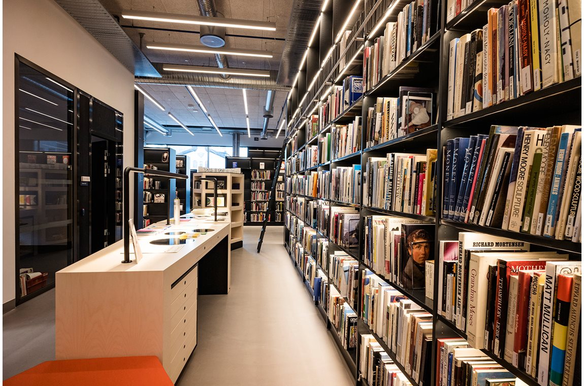 Universiteitsbibliotheek Bergen, Noorwegen - Wetenschappelijke bibliotheek