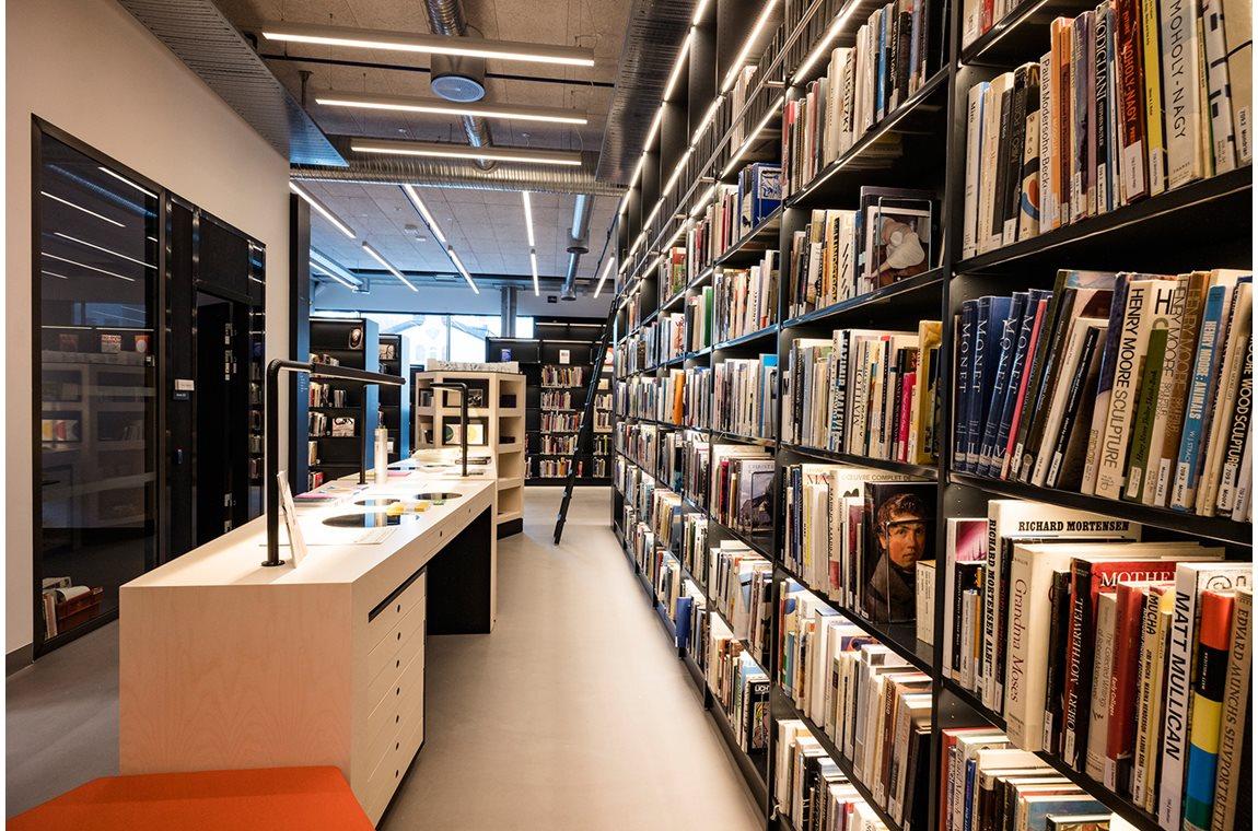 Bergen Universitet, Norge - Akademiska bibliotek