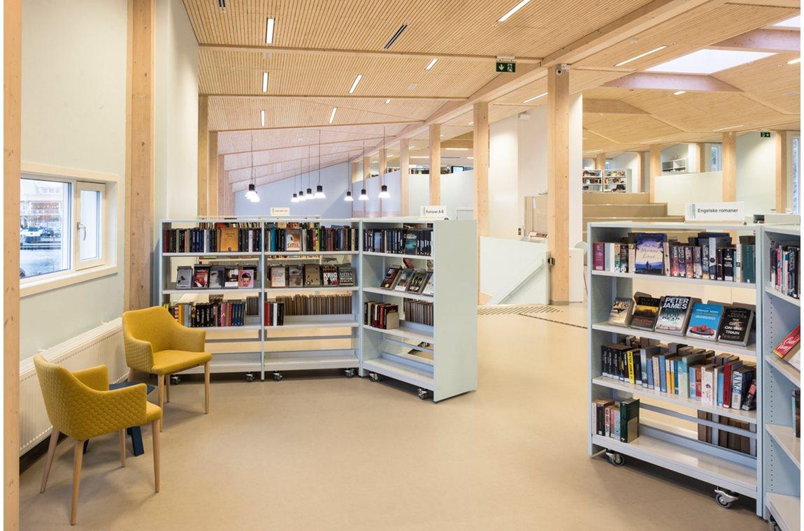 Bibliothèque municipale de Grimstad, Norvège - Bibliothèque municipale