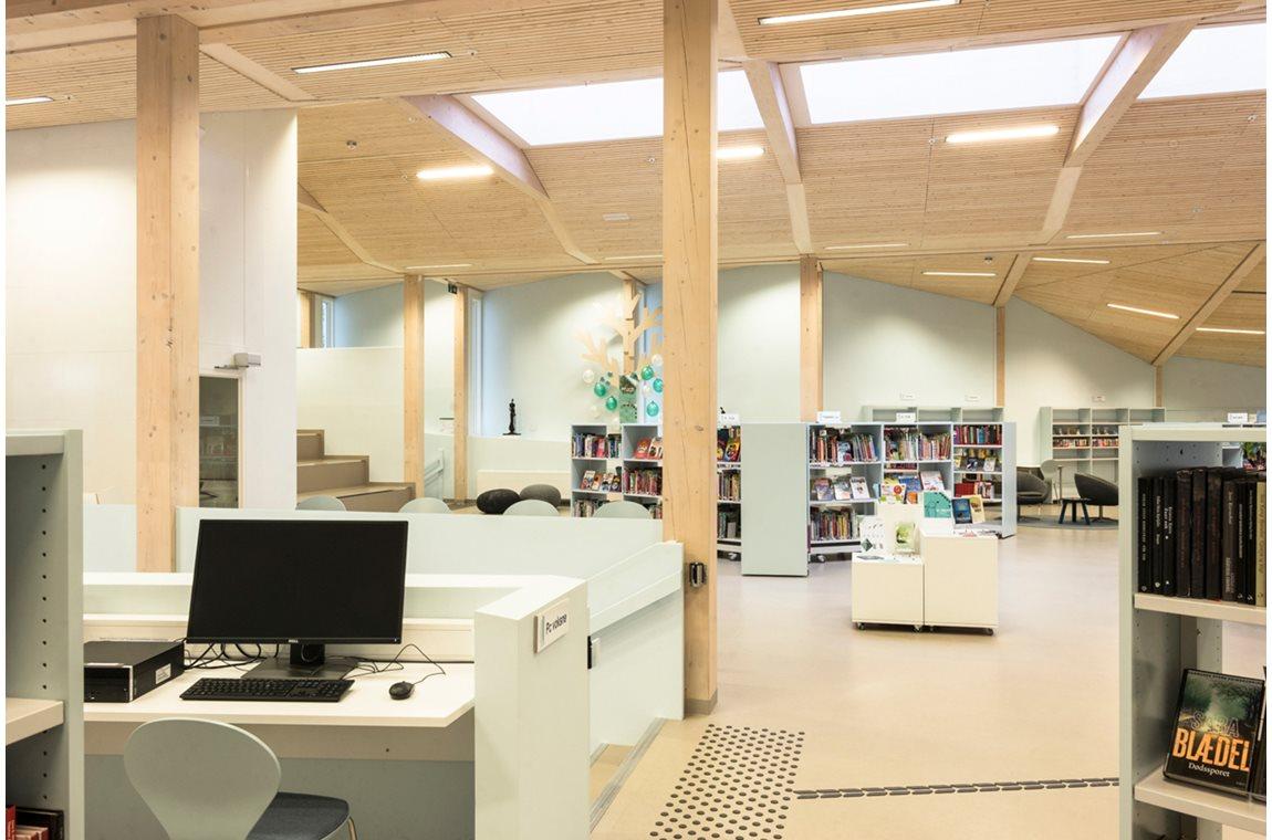 Grimstad bibliotek, Norge - Offentliga bibliotek