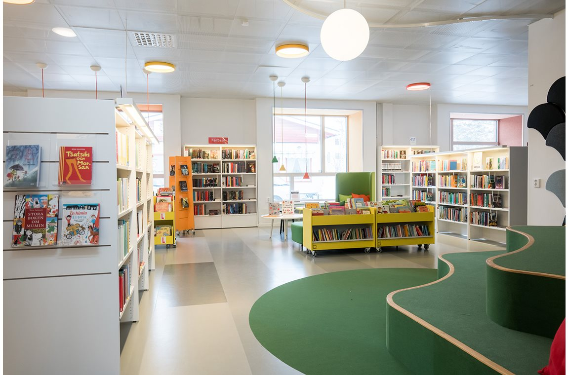 Krokoms Public Library, Sweden - Public libraries