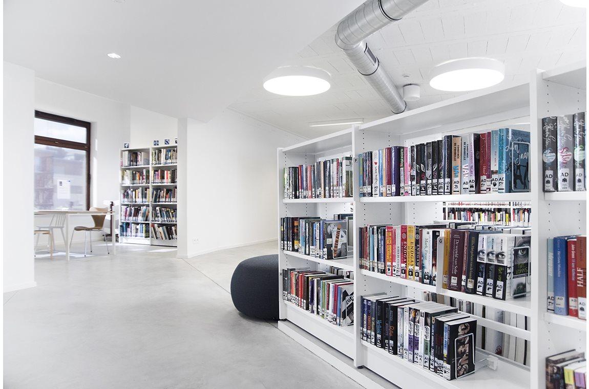 Bibliothèque municipale de Nijlen, Belgique  - Bibliothèque municipale