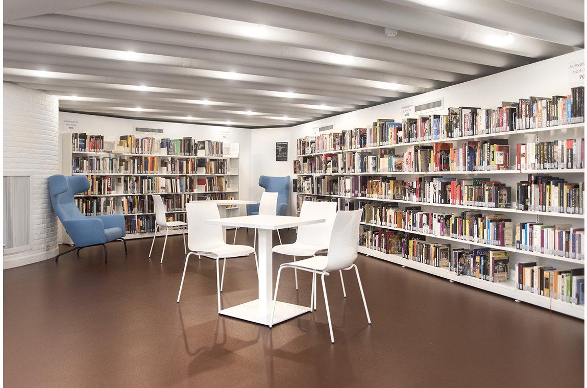 Schoten Bibliotek, Belgien - Offentligt bibliotek