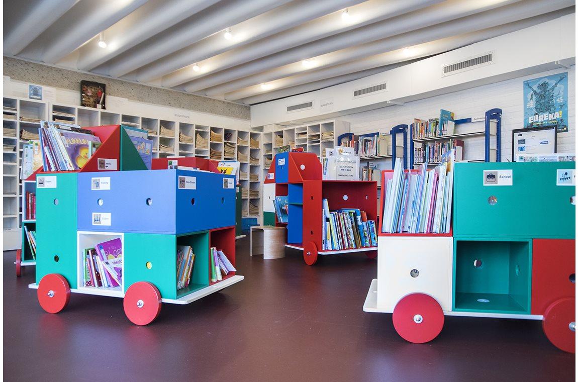 Bibliothèque municipale de Schoten, Belgique  - Bibliothèque municipale
