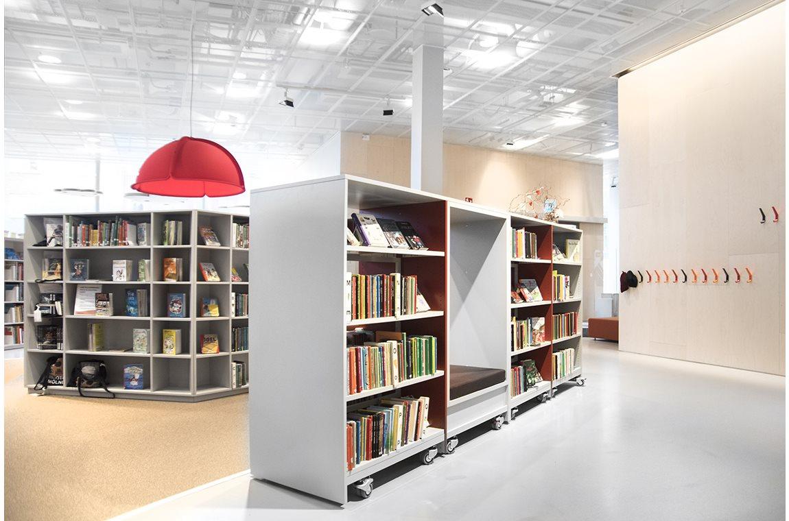Bibliothèque municipale de Mölndal, Suède - Bibliothèque municipale