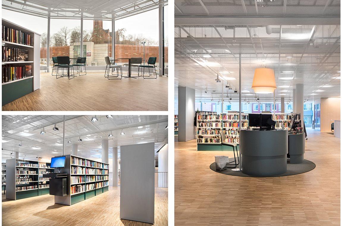 Mölndal Stadsbibliotek, Sverige - Offentliga bibliotek