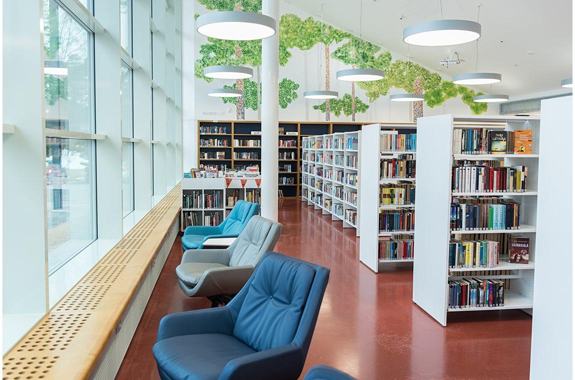 Kankaanpää Bibliotek, Finland - Offentligt bibliotek