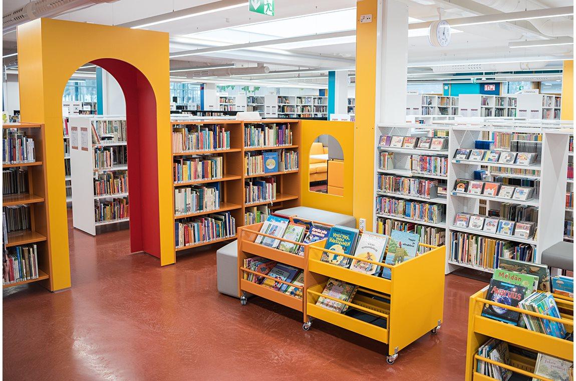 Kankaanpää bibliotek, Finland - Offentliga bibliotek