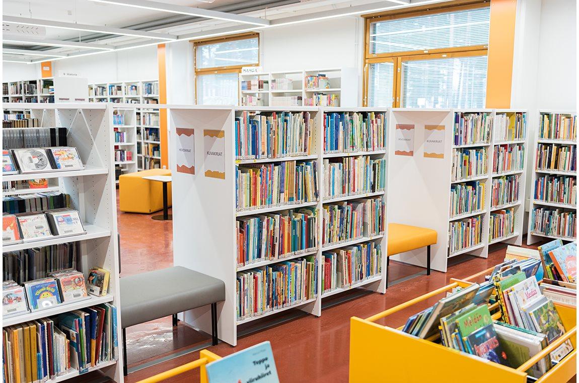 Bibliothèque municipale de Kankaanpää, Finlande - Bibliothèque municipale