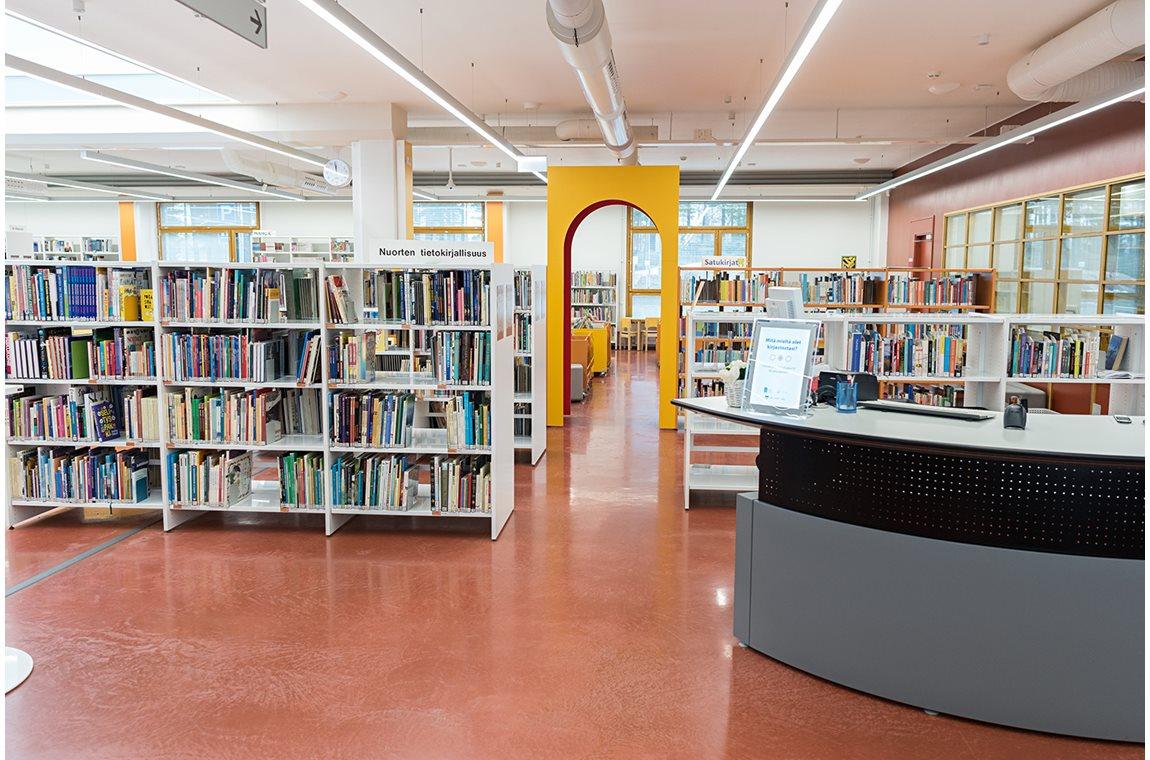 Kankaanpää Public Library, Finland - Public libraries