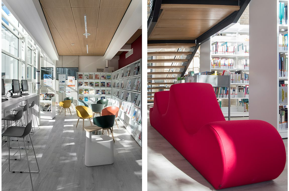 Burgundy School of Business, Dijon, France - Academic libraries