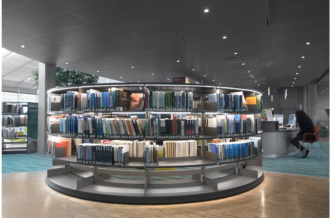 École Nationale des Ponts et Chaussées (ENPC), Champs sur Marne, Frankrig - Akademiska bibliotek