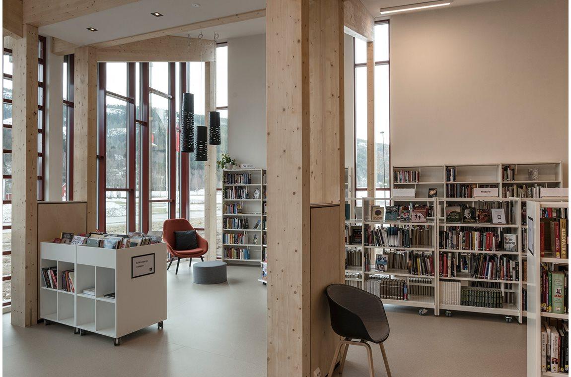 Bibliothèque municipale de Seljord, Norvège - Bibliothèque municipale