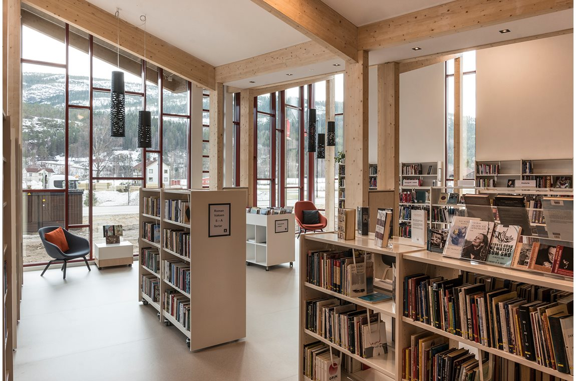 Öffentliche Bibliothek Seljord, Norwegen - Öffentliche Bibliothek