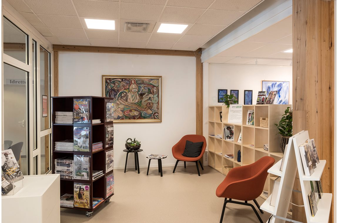Seljord Public Library, Norway - Public libraries