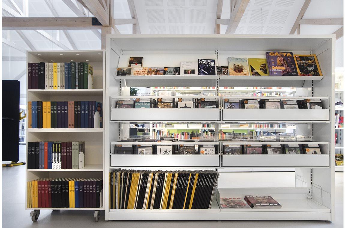 Bibliothèque municipale d'Avedøre, Danemark - Bibliothèque municipale