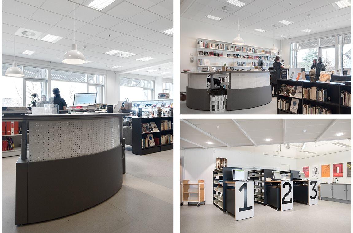 Bibliothèque scholaire de Greve, Denemark - CDI