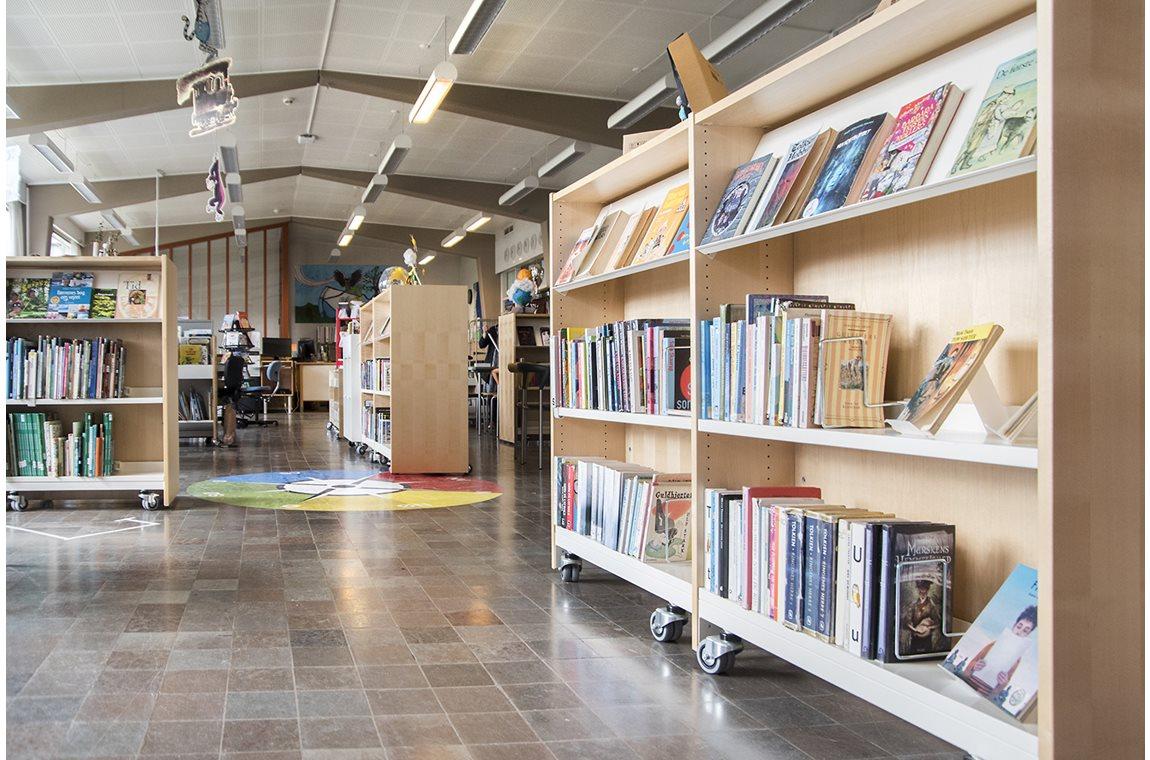 Præstemoseskolen, Hvidovre, Denemarken - Schoolbibliotheek