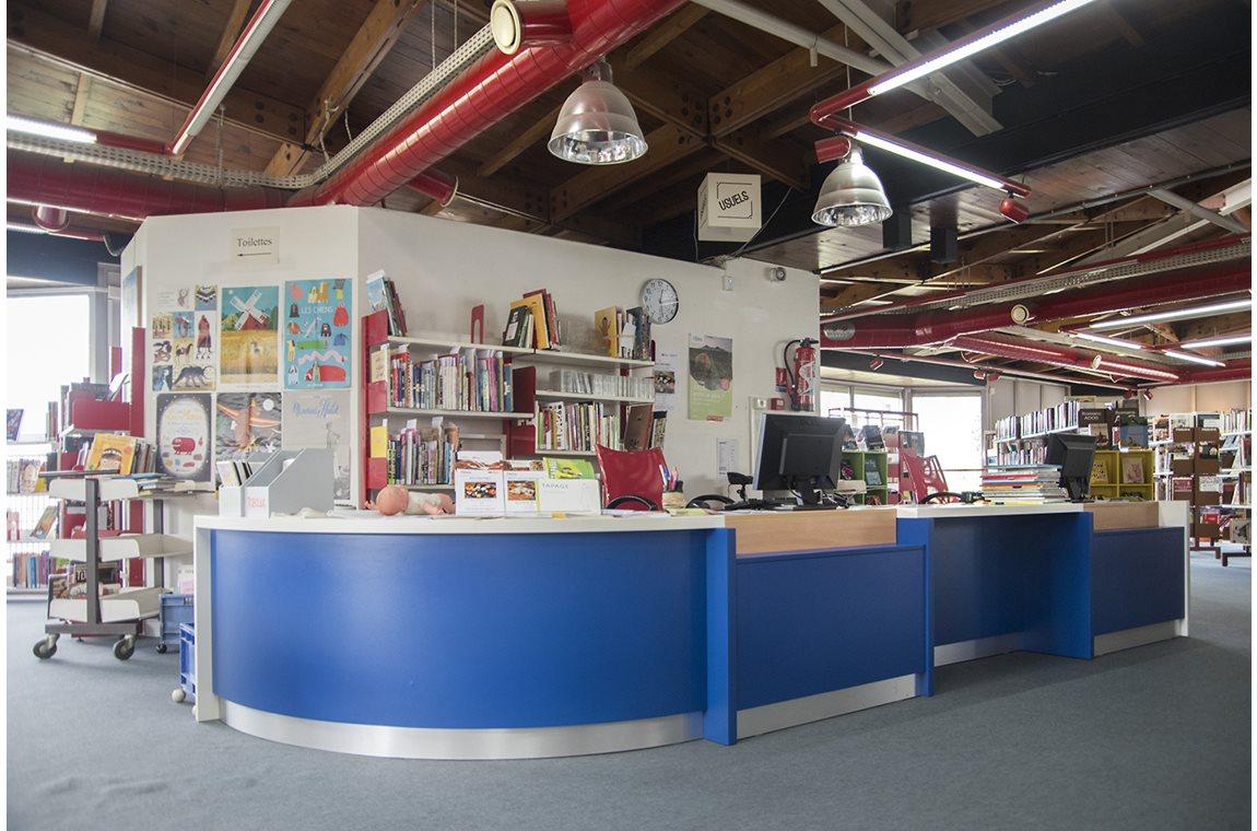 Elsa Triolet Public Library, Pantin, France - Public libraries