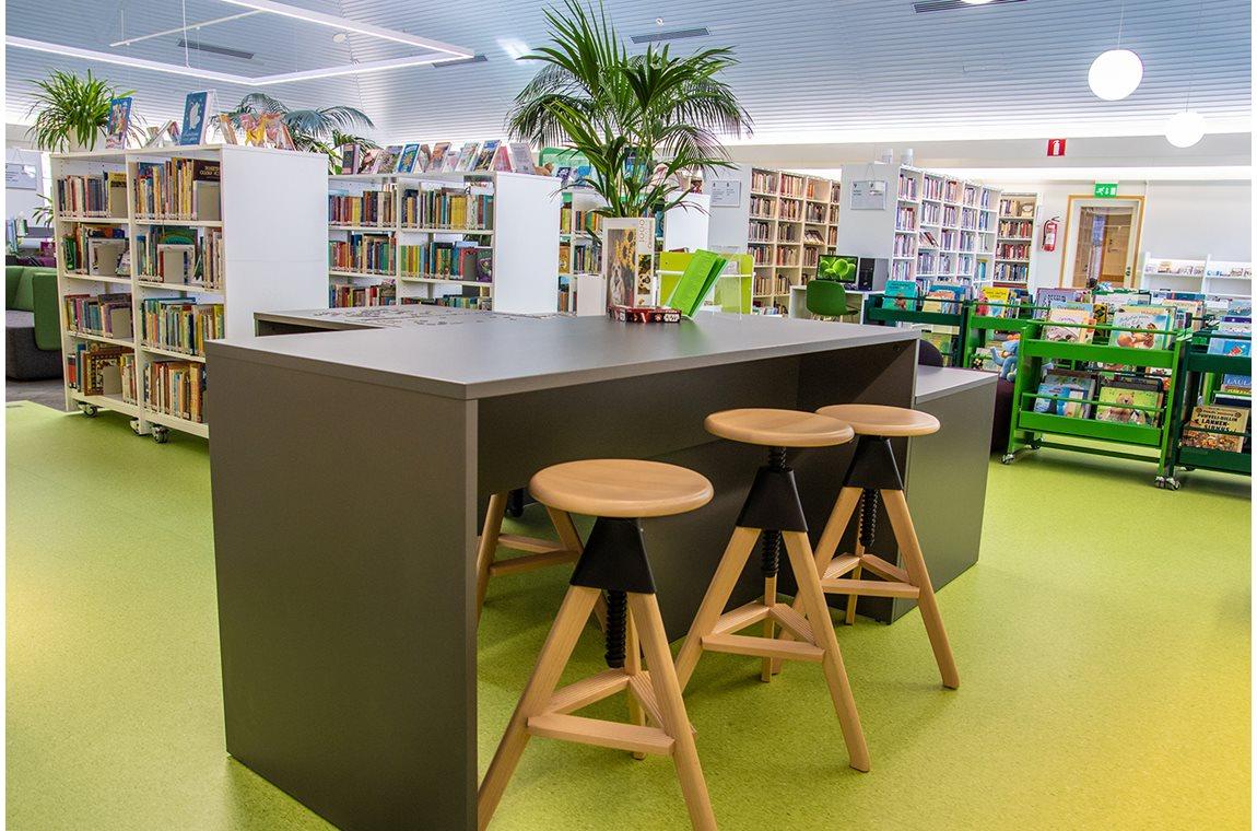 Nivala Public Library, Finland - Public libraries