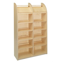 E21120 - single-sided with 12 shelves (10 adjustable)